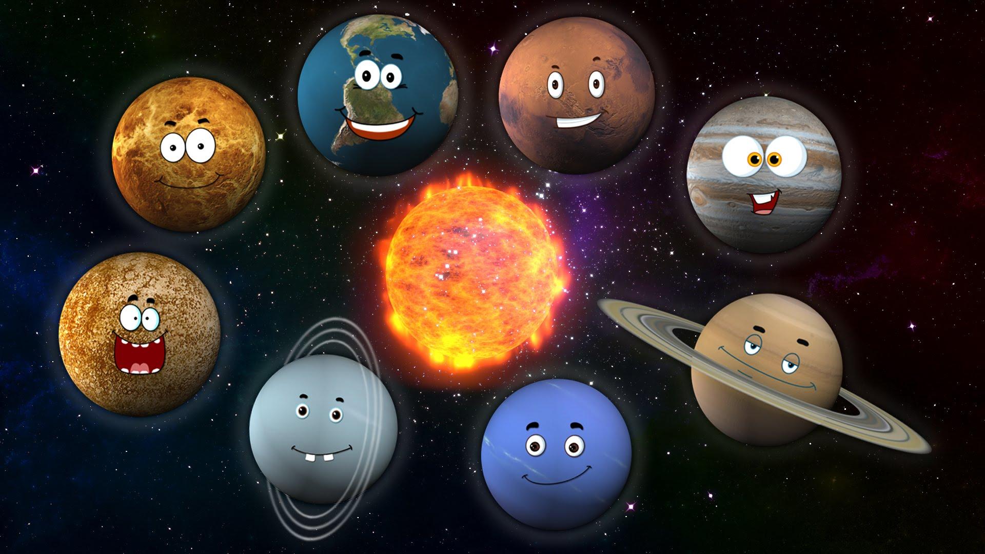 一首歌教你太陽系八大行星