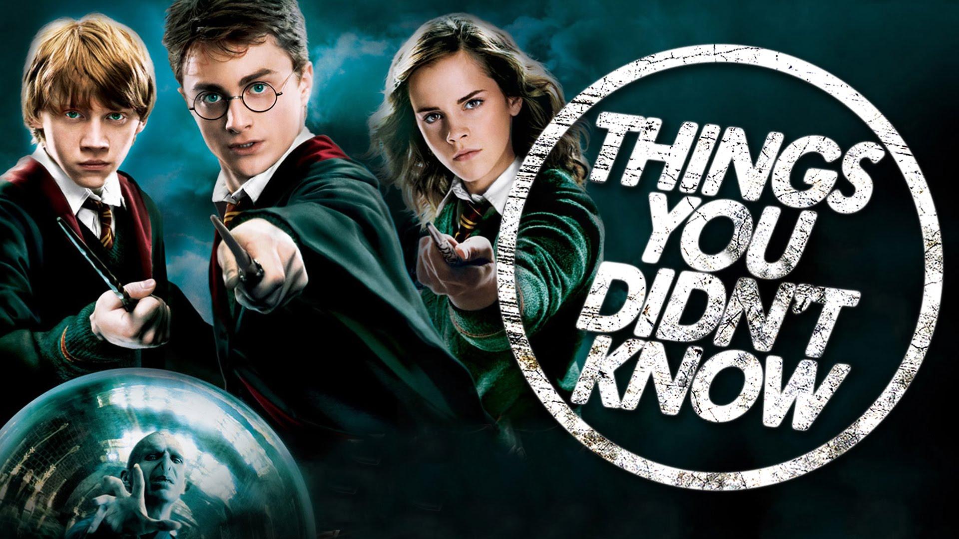 「關於《哈利波特》你可能不知道的 7 件事」- 7 Things You (Probably) Didn't Know about Harry Potter