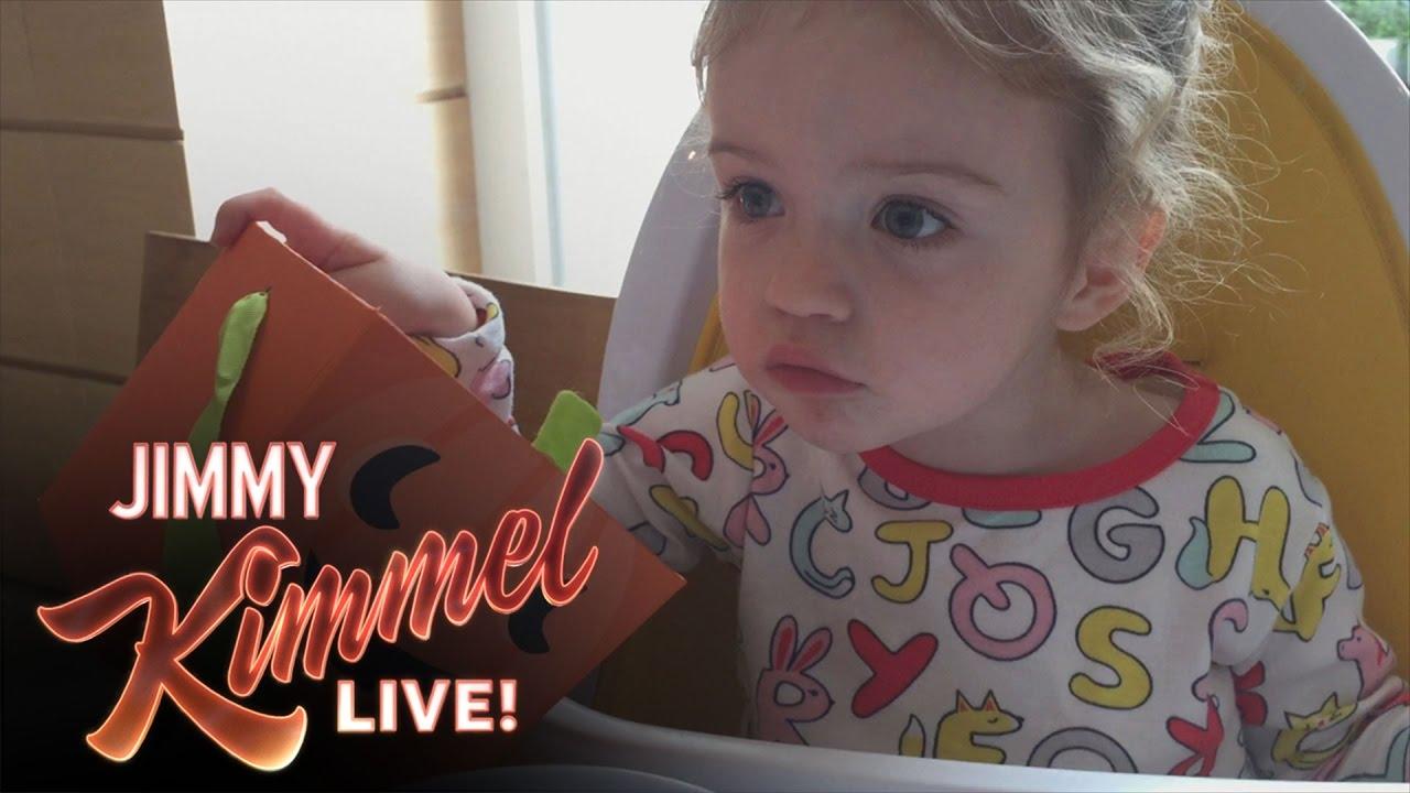 Jimmy Kimmel 的萬聖節惡作劇,慘遭自家寶貝女兒打臉?!