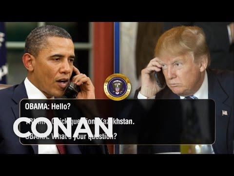 「錄音檔曝光!原來川普整天打電話盧歐巴馬總統」- Exclusive Leaked Audio of Obama & Trump's Phone Calls