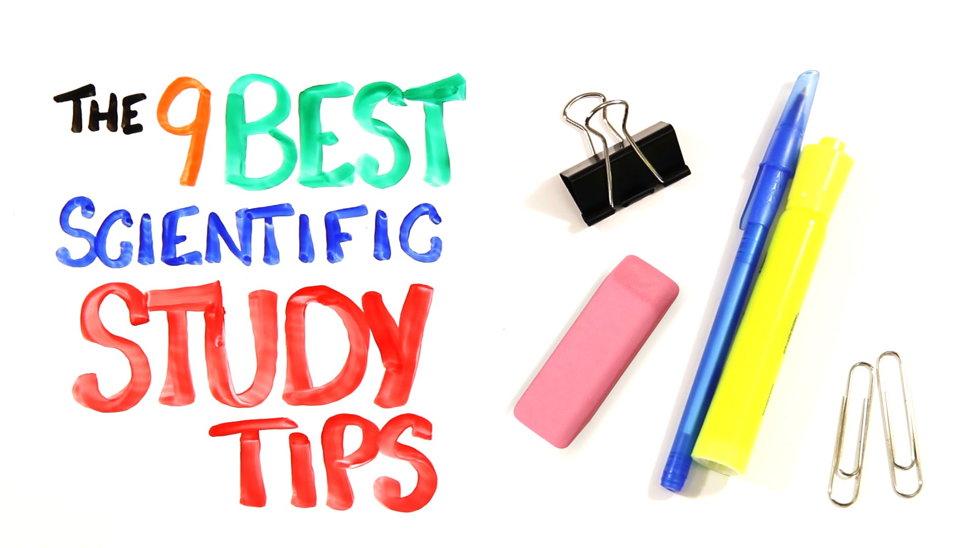 「為什麼想拿高分,讀十小時不如讀半小時?科學解釋給你聽」- The 9 BEST Scientific Study Tips