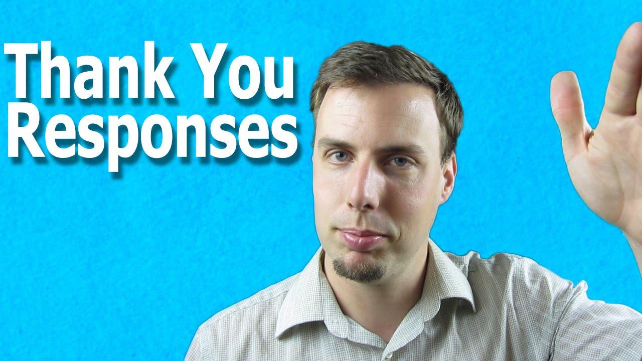 回應謝謝,別再只會說『You're welcome!』