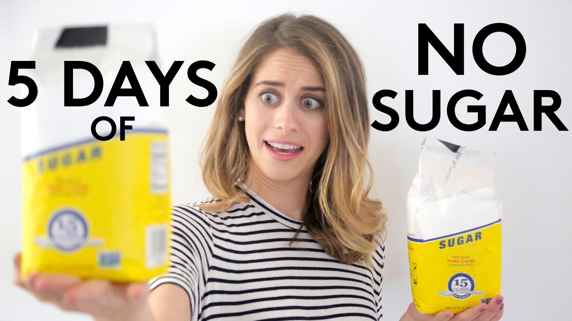 我的五天無糖日記