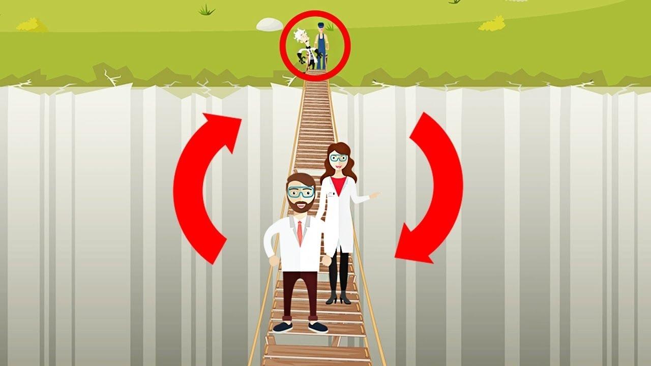 【腦袋打結啦!】只有 5% 的人解得開的過橋謎題