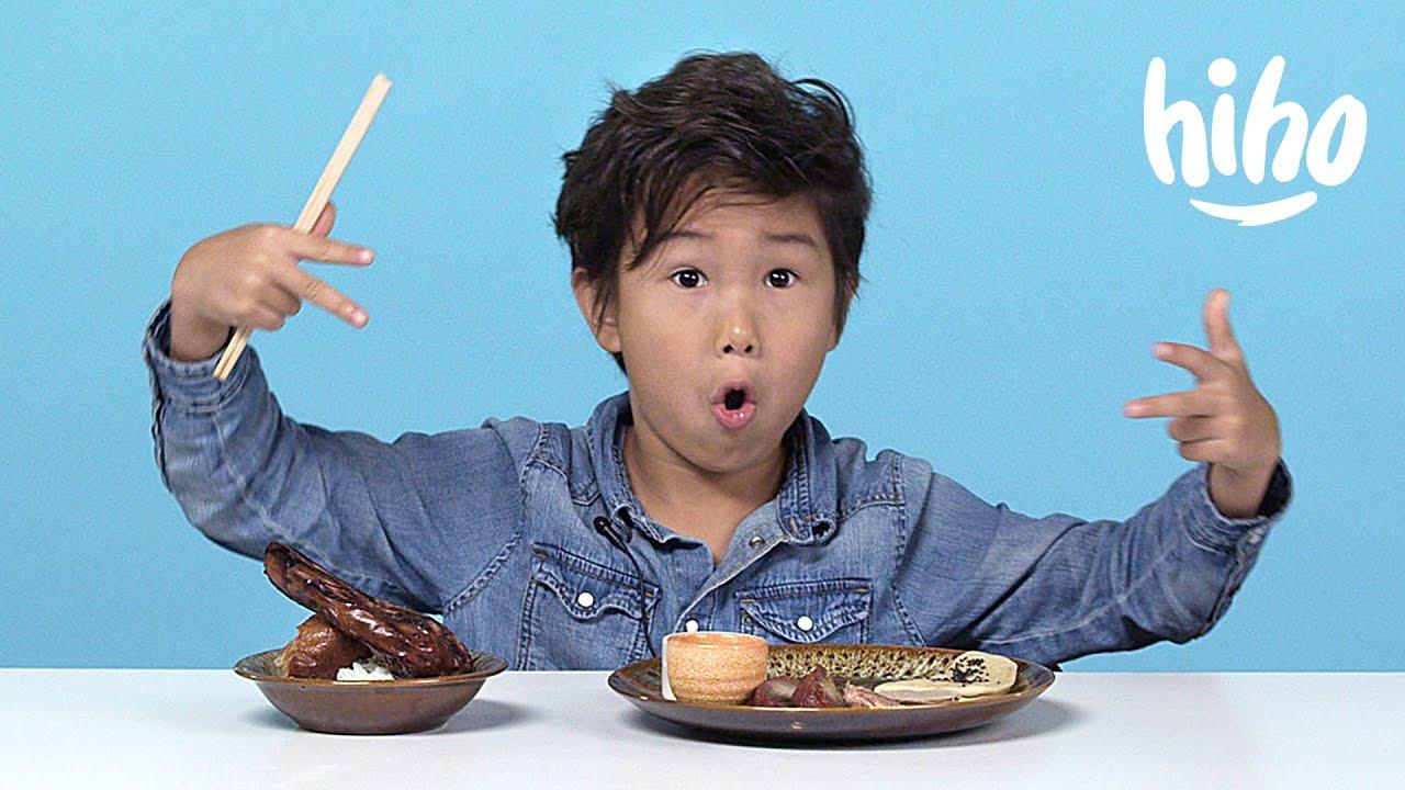 小朋友試吃中式料理--究竟是美食還是惡夢?!