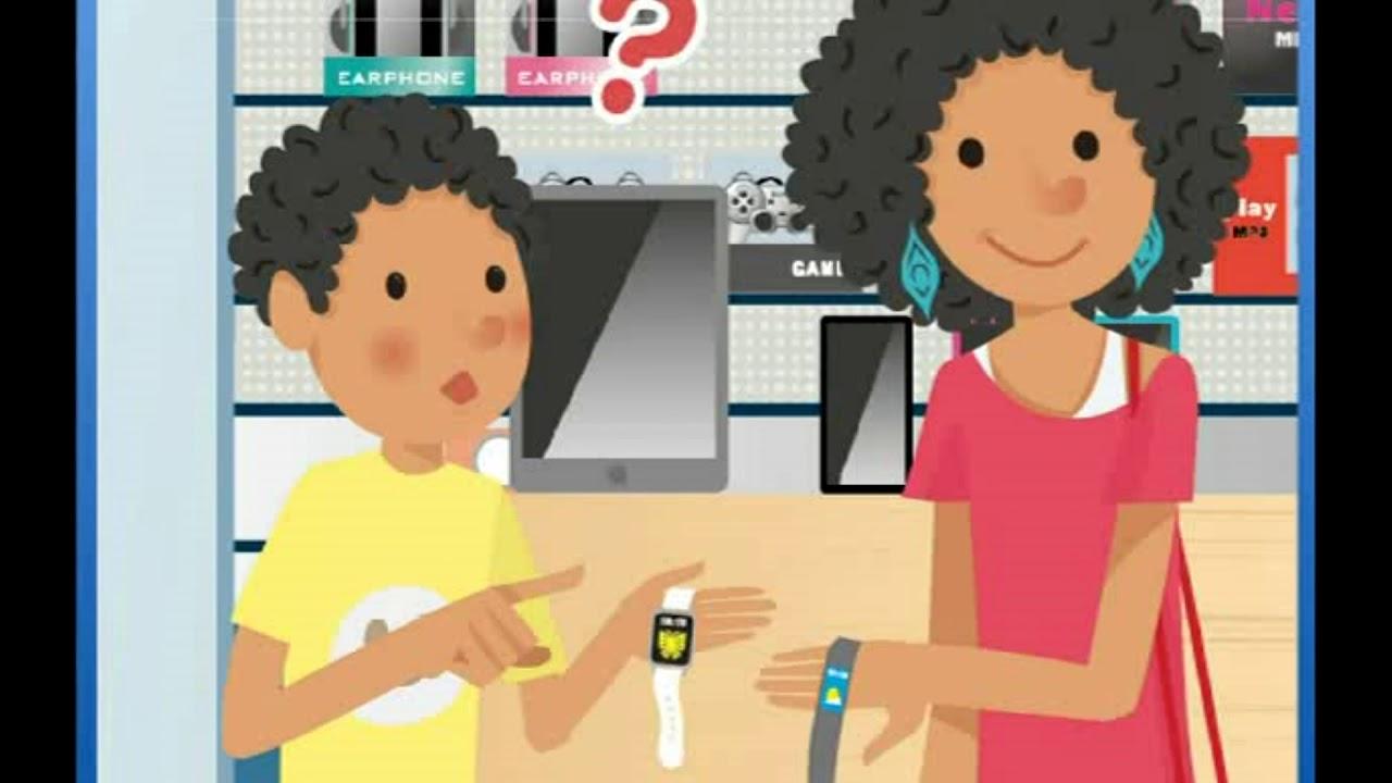 「翰林八年級下學期Unit 1: The Gray Smartwatch Is Lighter than the White One」- Dialogue