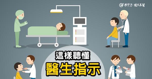 【看病英文】看醫生如何聽懂醫生指示?