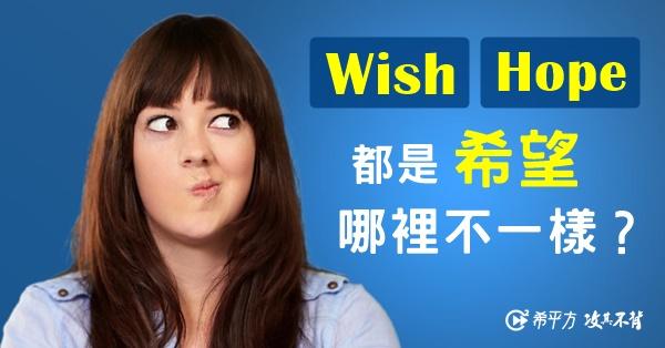 wish hope用法