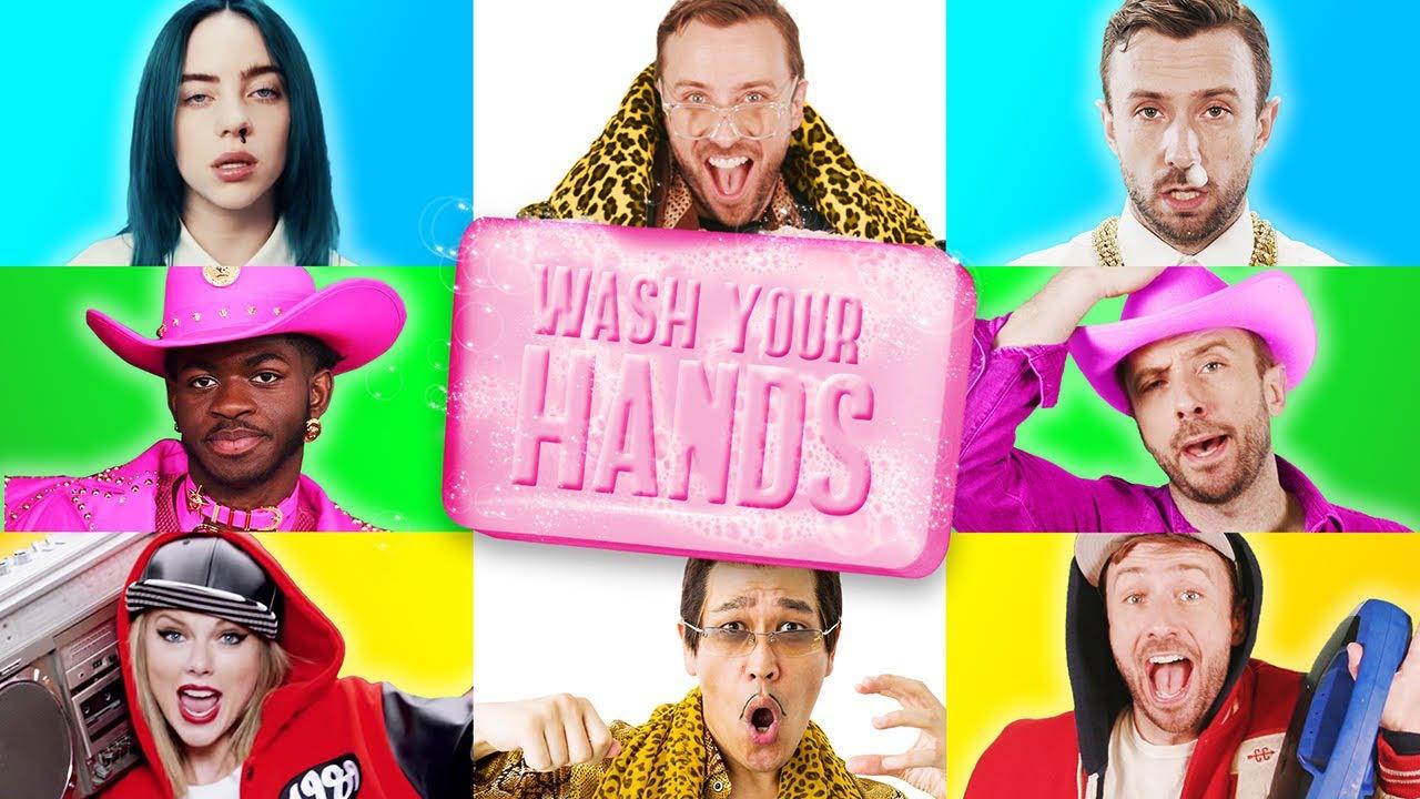 【不正經防疫宣導】歷代級洗手歌!10 首超夯流行歌翻唱,你聽過幾首?