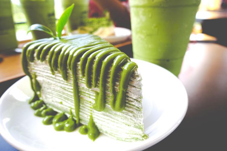 抹茶のケーキやパン、プリン等デザートは食べていい?