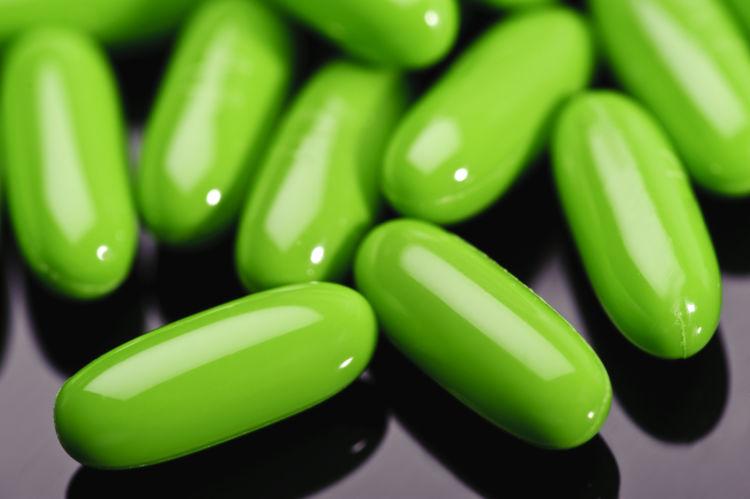 緑茶抽出物のサプリメント