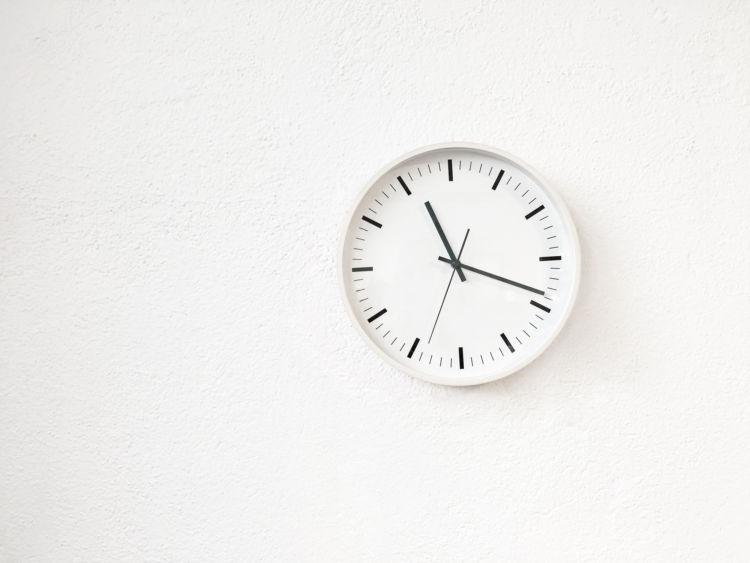 時間を伝える