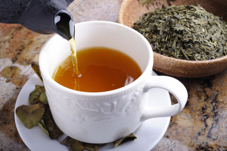 茶葉にはカフェインが含まれてお