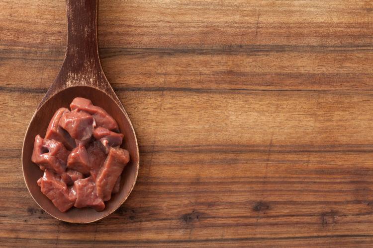 与えても良い鶏肉の部位と調理法②「レバー」