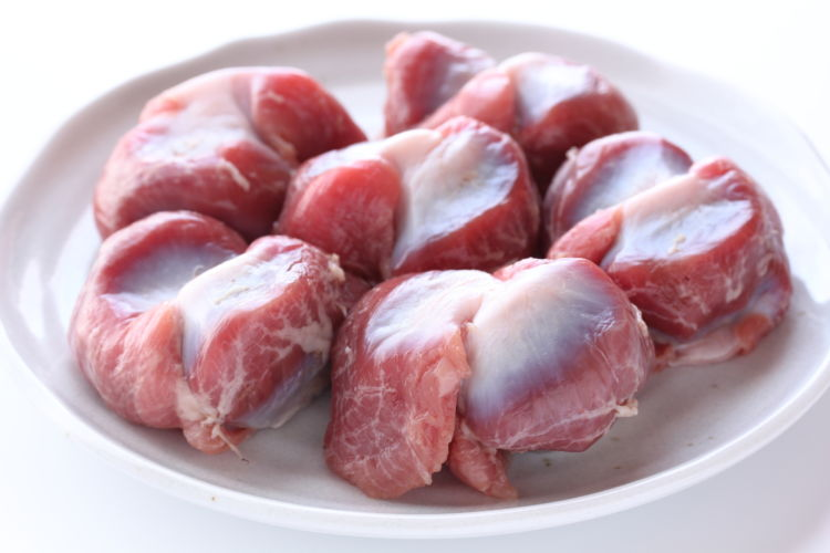 与えても良い鶏肉の部位と調理法③「砂肝」