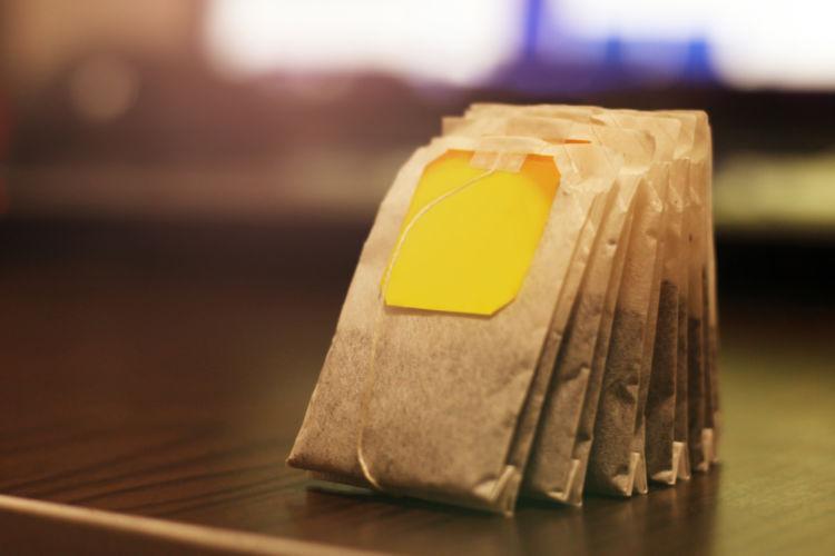 カフェイン量③「紅茶ティーバッグ(出し殻)」