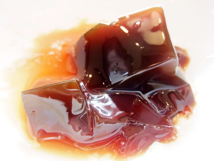 カフェイン量④「紅茶のゼリー」
