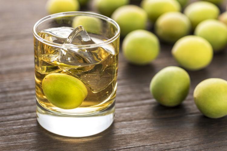 犬に与えてはダメ!危険なアルコール(お酒)の種類⑧「梅酒」