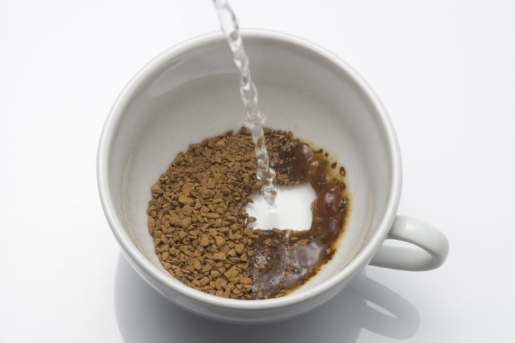 カフェイン含有量③【インスタントコーヒー】