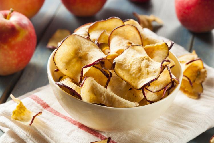 りんごの加工品⑤【りんごチップ】