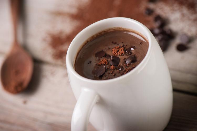 カフェイン テオブロミン チョコレート 飲み物