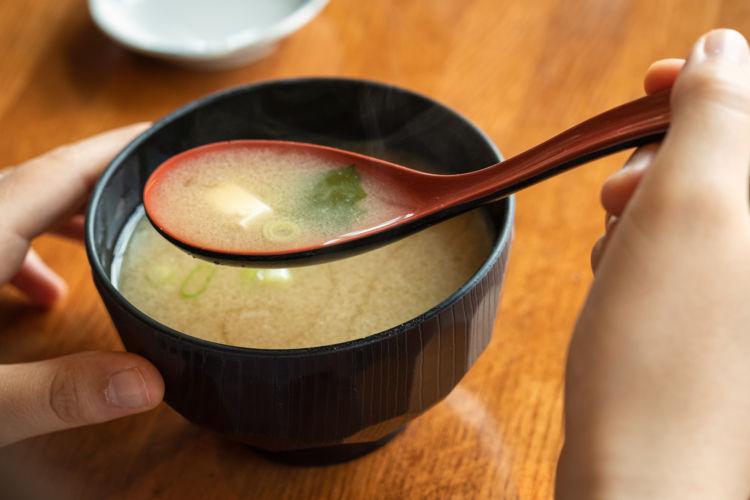 危険なネギ料理③【味噌汁(スープ)】