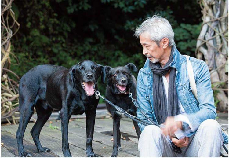 保護犬として引き取り 今は大切な家族になった2頭