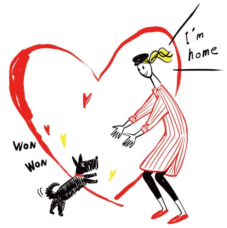 犬が生きるために必要な食事や睡眠、排泄などの「生理的欲求」や、身の危険を感じないなどの「安全の欲求」が満たされていることが、犬の喜び(幸せ)の大前提となる。