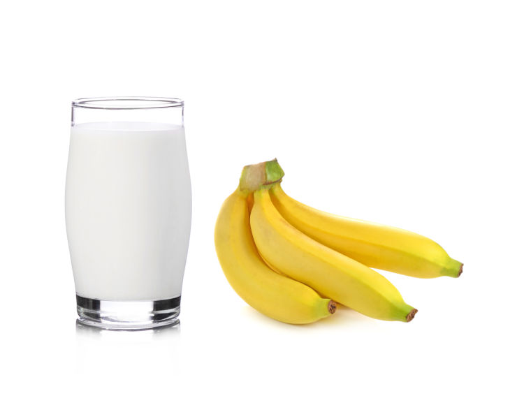 バナナ製品⑦【バナナミルク(牛乳)】