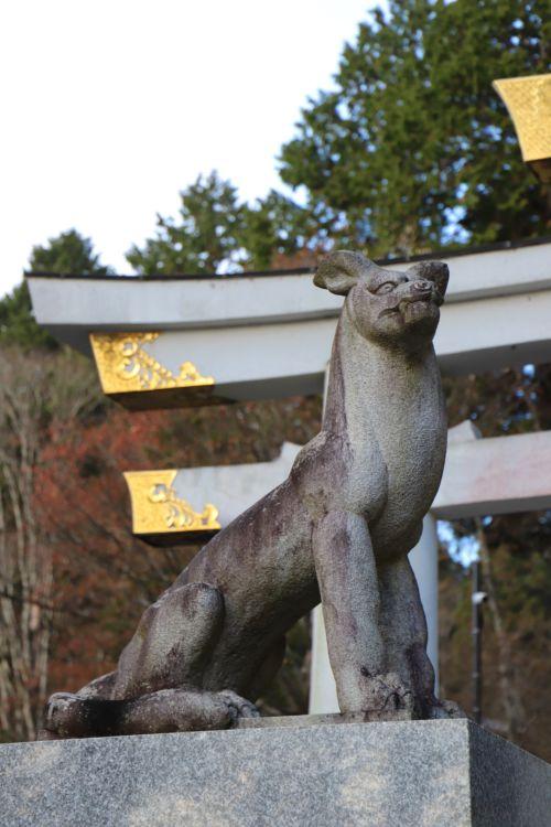 玉県秩父市の三峯山山中にある三峯神社
