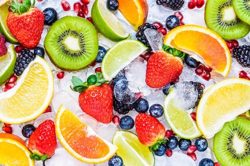 キウイフルーツの栄養素③「カリウム」が生の果物類ではトップクラスの含有量!