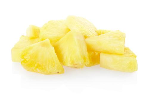 パイナップル一切れ