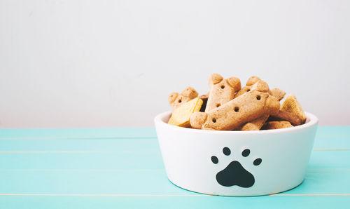 おすすめ豆乳レシピ①「豆乳・きなこの犬用クッキー」