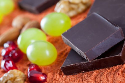 チョコレートとレーズン