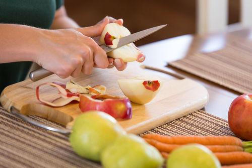犬用りんご・にんじんゼリーを作る
