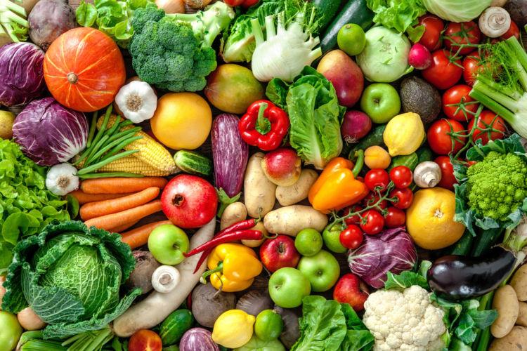 野菜にはいろいろな栄養が含まれている