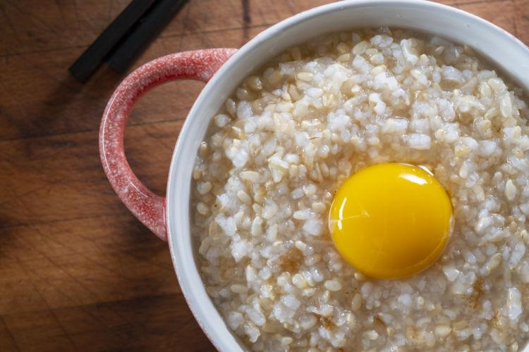 「卵」「ささみ」を使った簡単雑炊手作りレシピ!