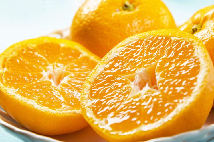 オレンジの水分で手軽に水分補給