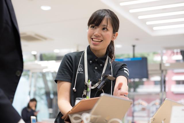 【大阪市】家電量販店でのソフトバンク販売員:契約社員