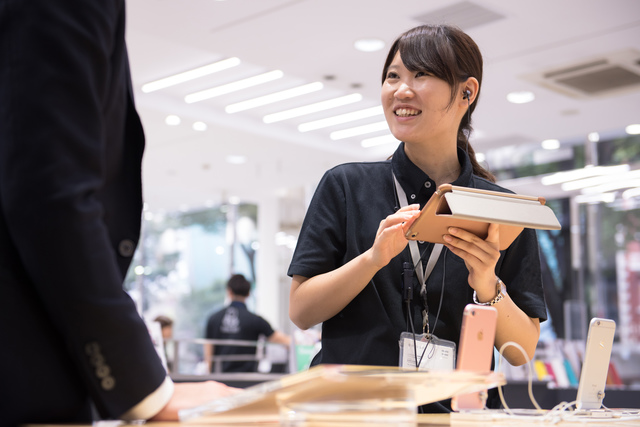 【福岡】時給1,200円以上!大手キャリアPRスタッフ:派遣社員