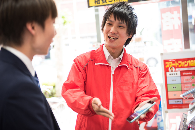 【東大阪】未経験・日払い可!ワイモバイルスタッフ:派遣社員