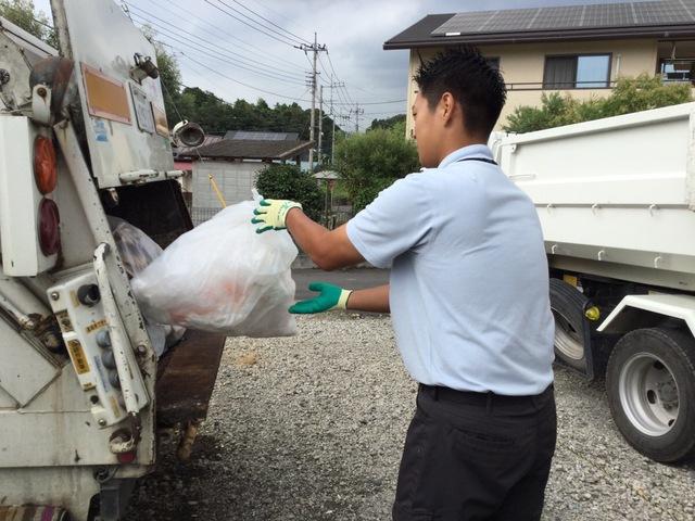 廃棄物のメンテナンススタッフ:正社員