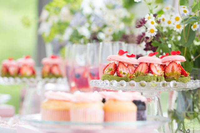 結婚式場のパティシエ
