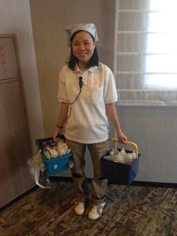 リッチモンドホテル浅草の客室清掃
