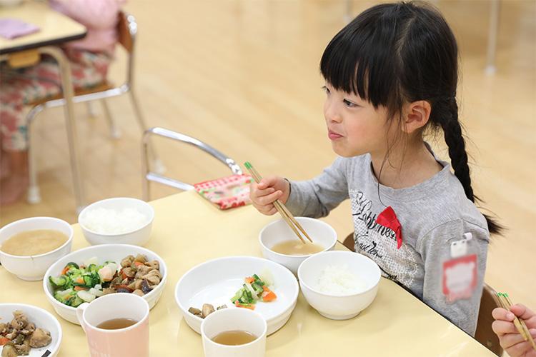 出汁に興味を持つ子も出てくる食育
