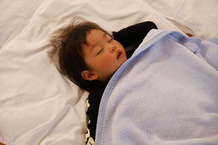 睡眠と生活リズムを整える事を目指す保育