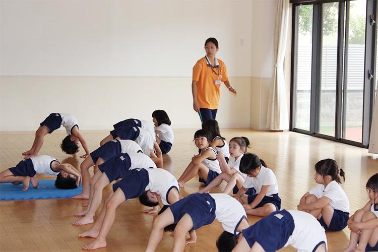 立腰教育を土台にヨコミネ式を導入