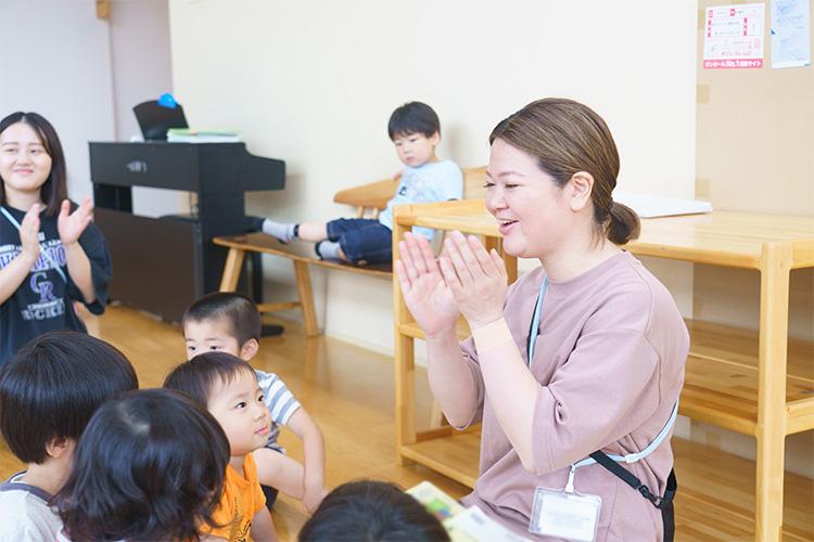 子どもたちのやる気を育くむ『誉める保育』