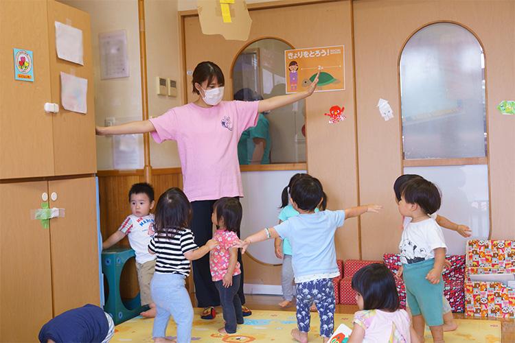 子どもの主体性を引き出していく保育
