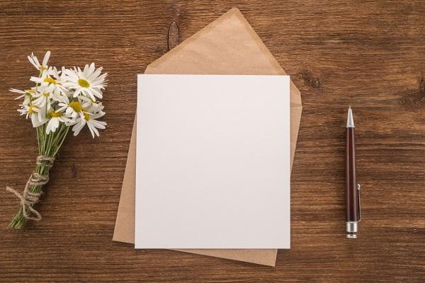 園見学後のお礼状の書き方。宛先ごとの例文や送る時期について